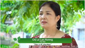Chia sẻ của chị Lê Lan Hương – Hà Nội về sản phẩm Hồng Sâm Curcumin Nano