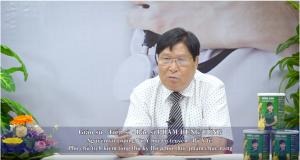 PGS Nguyễn Hữu Củng giới thiệu Hồng Sâm Curcumin Nano