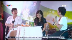 Truyền hình VTV 1 nói về sản phẩm dinh dưỡng Hồng Sâm Curcumin Nano