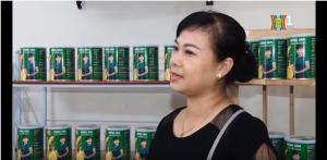 Kênh Hà Nội chương trình chống hàng giả nói về sản phẩm Hồng Sâm