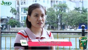 Chị Nguyễn Thị Xuân Hoa_Cầu Giấy_Hà Nội cải thiện đau bụng, mệt mỏi sau khi sử dụng Hồng Sâm