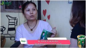 Chị Nguyễn Thị Hương giảm mệt mỏi, căng thẳng sau khi sử dụng Hồng Sâm